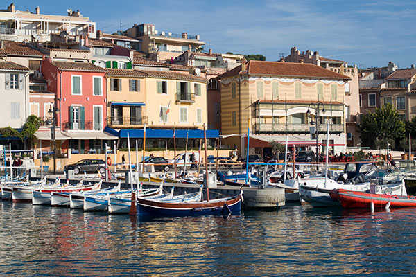 Cassis harbour French Riviera