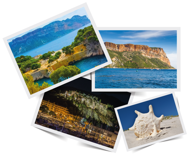 images of the Cassis area