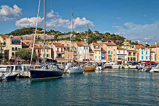 Harbor of Cassis, France
