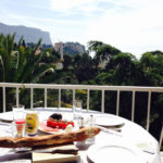 Lunch on the terrace at Apartment Cassis